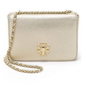 Tory Burch Gold Mercer Bag